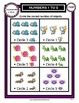Numbers 1 to 5-Circle Correct Number of Objects - Kinderga