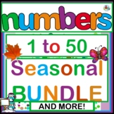 Numbers 1 to 50 Printable Activities