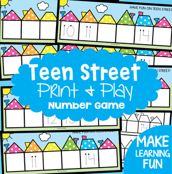 Numbers 10-15 {Math Activities Pack #17} Math Centers