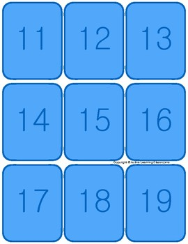 Numbers 10-20 (Playing Cards, Fun Games, Flash Cards, NO PREP)