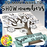 Numbers 10-20 Representations Interactive Activity