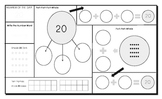 Numbers 10 to 20: Graphic Organizer: Numeracy Mats for Num