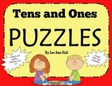 Numbers 10 to 20, Tens and Ones Puzzles