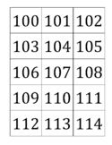 Numbers 100-1000