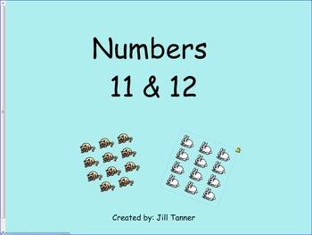 Numbers 11 &12