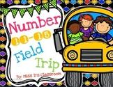 Numbers 11 - 15 Field Trip Bundle!