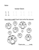 Numbers 11-15 Trace & Count