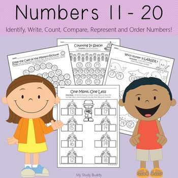 Numbers 11-20 (Kindergarten Math)