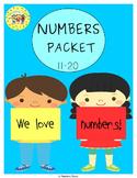 Numbers 11-20 Activities
