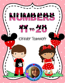 Numbers 11-20: Composing & Decomposing Them *Minnie Theme*