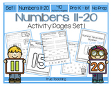 Numbers 11-20 Activity Pages Set 1