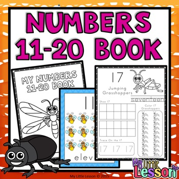 Numbers 11-20 Bundle: Worksheets, Number Posters, Tracing Strips, Playdough Mats