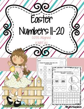 Numbers 11-20 Easter Theme