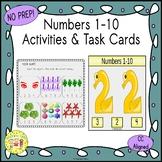 Numbers 1-10 Clip Task Cards
