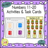 Numbers 11-20 Clip Task Cards