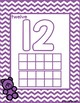 Numbers 11-20 Counting Bears and Tracing Mat