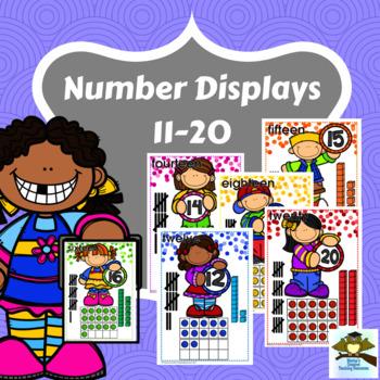 Numbers 11-20 Displays