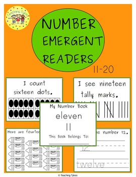 Numbers 11-20 Emergent Readers