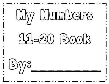 Numbers 11-20 Exploration Book