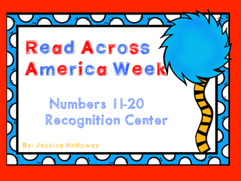 Numbers 11-20 FREEBIE (Read Across America Theme)