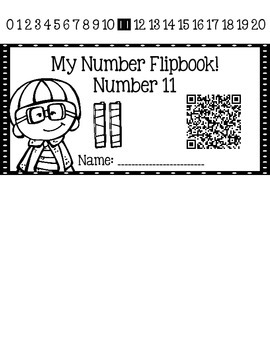 Numbers 11-20 Flipbook