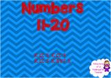 Numbers 11-20 Flipchart