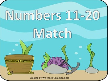 Numbers 11-20 Identifying Numbers Different Ways Math Cent