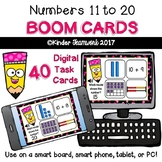 Numbers 11-20: Interactive BOOM CARDS (Digital Task Cards=