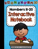 Numbers 11-20 Interactive Notebook