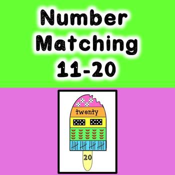 Numbers 11-20 Matching Activity