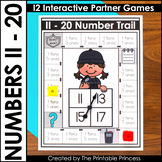 Teen Numbers 11 - 20 | Math Games for Kindergarten