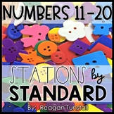 Numbers 11-20 Math Stations Kindergarten