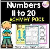 Numbers 11-20 Activity Pack