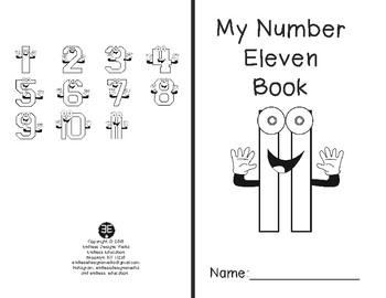 Numbers 11-20 Mini-Books