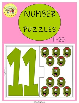 Numbers 11-20 Puzzles