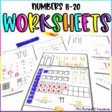 Number Worksheets 11-20