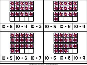 Numbers 11-20 {flowers}