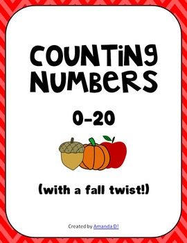 Numbers 0-20 (with a fall twist!)