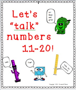 Numbers 11 Through 20 - How Many Tens, How Many Ones?