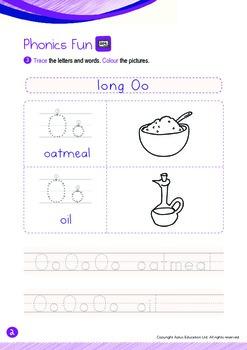 Numbers - 11 to 15 (II): Long O - K2 (4 years old), Kindergarten