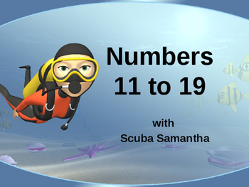 Numbers 11 to 19 Powerpoint