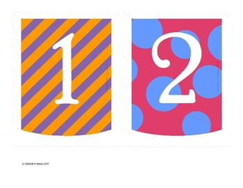 Numbers 1 to 20 Banner