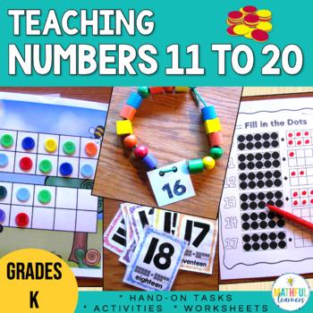 Teen Numbers - Activities and Games