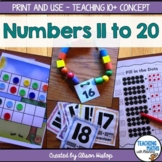 Teen Numbers Activities and Games