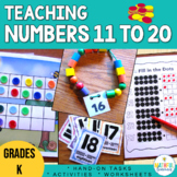 Teen Numbers Activities and Games