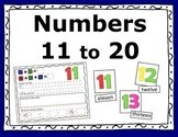 Numbers 11 to 20