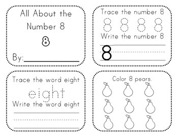 Number Activity Books