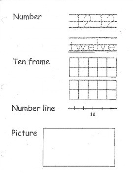 Numbers 12, 13, 15, 20 Packet