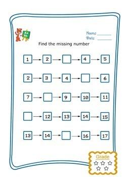 Kindergarten Math Worksheets | Kindergarten Math Printables