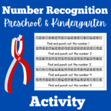 Number Recognition Kindergarten Activity